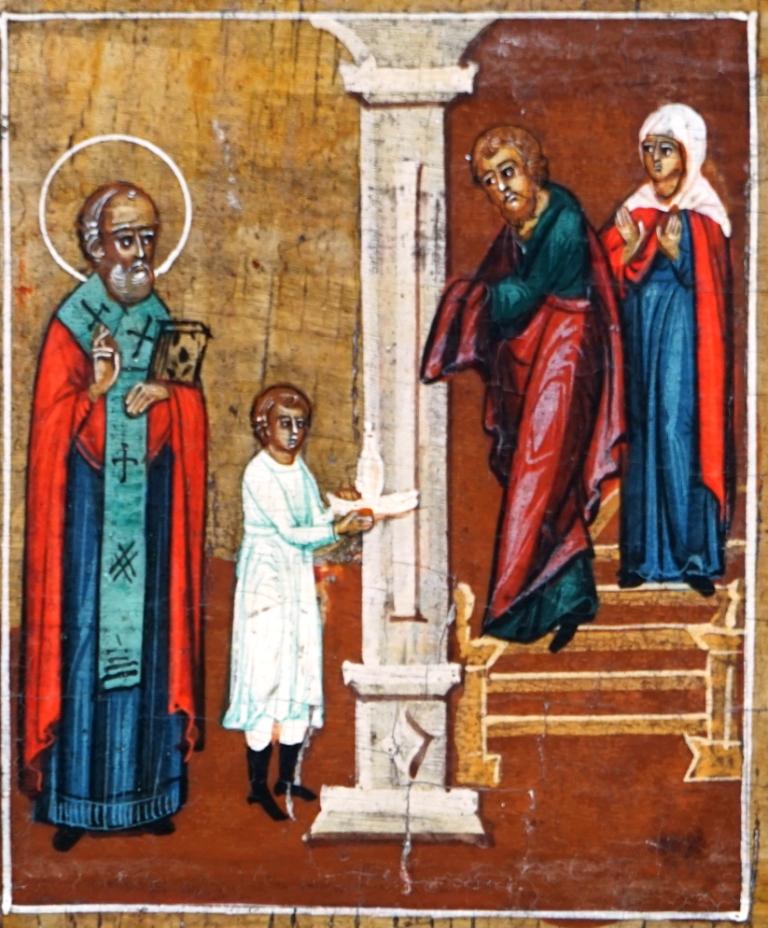 Nikolaas Nicolaas ikoon icoon