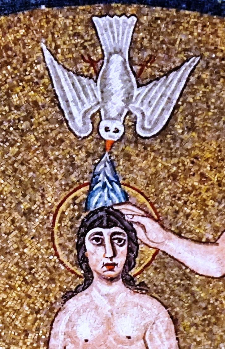 Baptisterium (doopkapel) van de Arianen in Ravenna