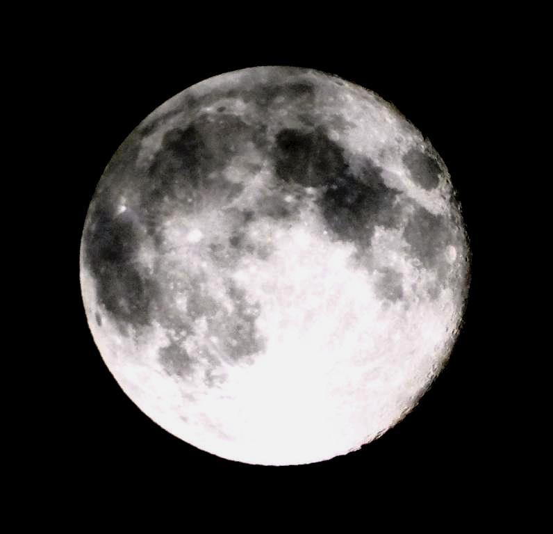 hans dornseiffen natuurfoto's maan
