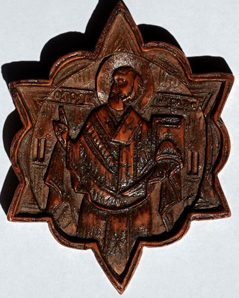 ikoon icoon Nikolaas Nicolaas