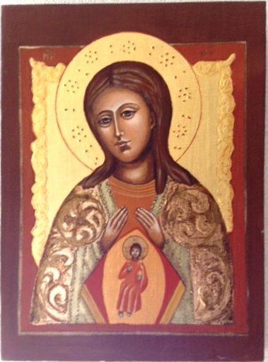 Moeder Gods, hulp van zwangere vrouwen
